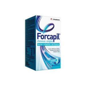 FORCAPIL Cheveux et Ongles 60 GÉLULES