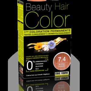 Coloration Beauty Hair Color BLOND CUIVRÉ 7.4